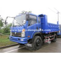 Quality Left Hand Driving Small Heavy Duty Dump Truck 150hp , 8.25R16 Radial Tire wholesale