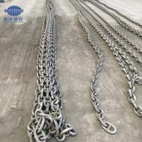 China Ship Used Black Painted Grade 3 Stud Link Anchor Chain With LR,BV,CCS,Nk,ABS wholesale
