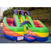 China 6x6m millenmium kids inflatable slide with obstacles N tunnel for outdoor parties wholesale