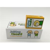 China Family Board Games Joking Hazard Card Game For Adult OEM / ODM Available wholesale