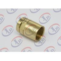 China Brass Female Union Nipple High Precision Machining Parts With Pickling Surface wholesale