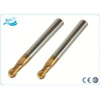 China Diameter R0.5 - R 10.0 Tapered Ball Nose End Mill with Tungsten Steel wholesale