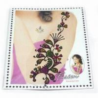 China Tattoo Sticker, Various Sizes and Designs are Available, Increases Brightness of Hand wholesale