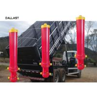 Buy cheap 8 Inch Bore Telescoping Dump Truck Hydraulic Cylinder , 3 Stage Hydraulic Cylinder from wholesalers