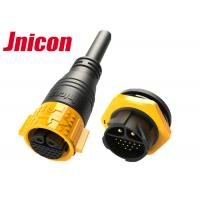 China 22 Pin Waterproof Male Female Connector Outdoor Circular Shape IP67 wholesale