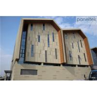 Buy cheap Building Facade Exterior Wall Cladding Recyclable Material Terracotta Panels from wholesalers