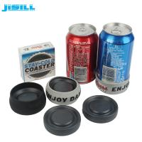 China Portable Round Custom Gel Can Cooler Holder with Environment HDPE Materials wholesale