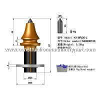 Quality Long Service Life Concrete / Road Milling Bits Of Road Surface Profiling wholesale