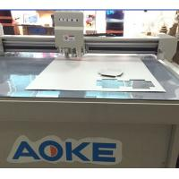 China recycled chipboard high end cosmetic liquor set-up boxes cutter plotter machine wholesale