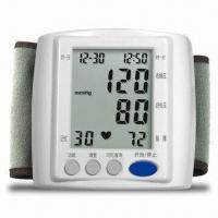 Fully Automatic Wrist Digital Blood Pressure Monitor, Powered by 2 x AAA Alkaline Battery