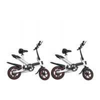 China 12 Inch Leisure Portable Foldable Electric Bicycle Aluminum Alloy Frame wholesale