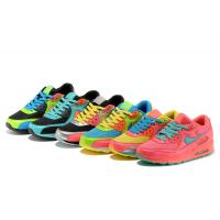 China N-ike air max90 running shoes men's shoes air breathable rainbow woman culture sports shoe wholesale