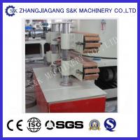 Quality 90mm Diameter Plastic Pipe Extrusion Line Double Screw Extruder  CE ISO9001 for sale