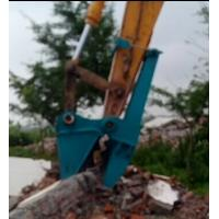 China Beiyi BYC300 Concrete demolition tools machinal pulverizer small rock crusher excavator pulverizer distribut wholesale