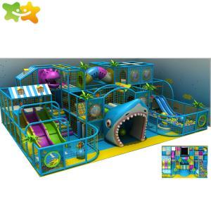 China New Customized Theme Kids Play Area Equipment Indoor Maze Kids Playground wholesale