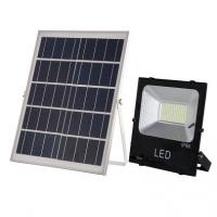 China New design CE surface mounted warm pure white high lumen outdoor waterproof ip66 LED solar flood light 200w wholesale