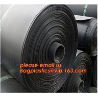 China 0.8mm pond liner hdpe fish pond geomembrane,Composite Geomembrane for fishing pond,Polyester Needle Punched Nonwoven Geo wholesale