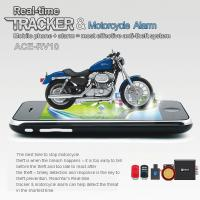 China RFV10 Remote-Control Motorcycle Security AGPS LBS Tracker W/ web tracking & Alarm by SMS wholesale
