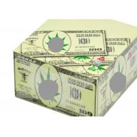 China Hornet Dollar Pattern Cigarette Paper Roll Slow Burning Style Translucent wholesale