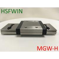 China Low Noise Miniature Linear Rail Slide , Stainless Steel Linear Guide Rails wholesale