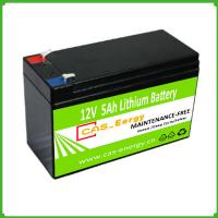 China Rechargeable Deep Cycle Lithium Storage Battery Solar Use 12V 5Ah for Solar Power System on sale