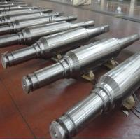 China DIN 86CrMoV7(1.2327) Forged Forging Steel Cold mill work rolls straightening rolls,back-up rolls Rollers Leveller rolls wholesale