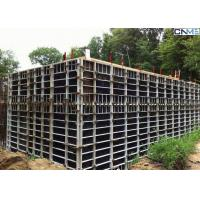 Buy cheap Steel Concrete Wall Formwork With Adjustable Clamp for Straight Wall Construction from wholesalers