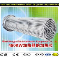 China PT100 Thermostat Tubular Immersion Heaters With Temperature Sensor wholesale