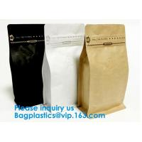 Quality High Barrier 16 oz Foil Stand up Zipper Pouch Coffee Bag with Valve,Resealable for sale