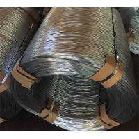Quality 570 - 800 MPa High Strength Iron Binding Wire , Q195 Hot Dipped Galvanized Wire wholesale