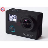 4K 24 Fps Action Camera With Sony Imx078 Sensor Dual Sceen Waterproof Sports Camera