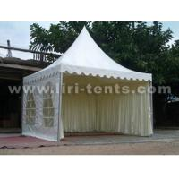 China 5X5m Pagoda Party Tent for rental, High Peak Pagoda Party Tent, Outdoor event party tent with printing wholesale