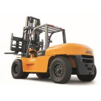 China Large Capacity Counterbalance Forklifts , 10 Ton JAC Forklift China  , Heavy Machinery Forklift , Diesel Forklift wholesale