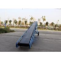 China Concrete Batching Plant 500mm 650mm Incline Belt Conveyor wholesale