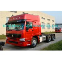 Quality White 290HP 6X4 Prime Mover Truck 60Ton with EURO II Standard , The Real Helper for sale