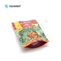China Stand Up Food Packaging Bags Reusable Laminated Plastic Zipper Lock Gravure Printing wholesale