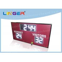 China 12inch 300mm Digits in White Color Led Electronic Scoreboard for American Markets wholesale