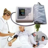 China DHL free shipping Fully Automatic Arm Digitl Blood Pressure Monitor Sphygmomanometer Color LCD CONTEC08E with CE FDA wholesale
