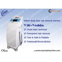 Quality Medical Diode Laser Hair Removal Machine For Beard / Backside Removing for sale