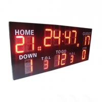 China Wireless Control Germany / American Electronic Soccer / Football Scoreboard wholesale