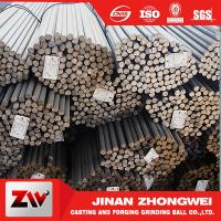 Quality Forging and Casting Grinding Rod For Mining Low Breakage Long Time Work 50mm wholesale