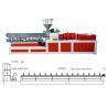 China Plastic Twin Extruder Machine Conveyor Belt Pelletizing Without Water 220V / 380V / 480V wholesale