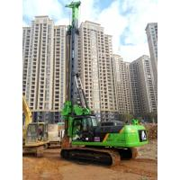 China TYSIM KR150C Rotary Piling Rig , Pile Driving Machinery With Rotation Speed 7~26 rpm wholesale