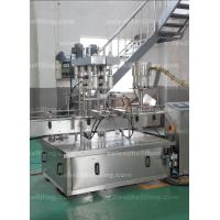 Quality Full Automatic Oil Filling Machine Linear Type For 1L - 5L Bottles for sale