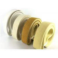 China Nomex Endless Felt Belt Cushion / Aluminum Profile Felt Cover Customized Length wholesale