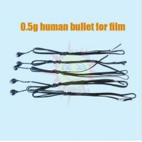 Quality human bullet for film and television + special effect for gun shoot for sale