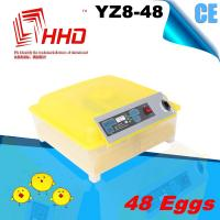 Quality YZ8-48 CE Approved automatic small egg incubator/egg hatching machine for sale for sale