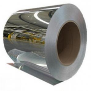 China Laminate Mirror Finish Aluminium Sheet Highly Reflective Washable For Lighting on sale