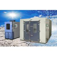 Quality Larger Volume Electroplated SUS304 Walk-in Climatic Test Chamber / Rooms wholesale