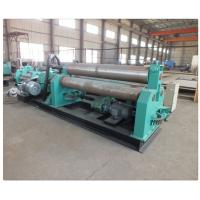 China Plate Bending Machine Three Hydraulic Motors Thickness 15~100mm Roll Forming Machinery wholesale